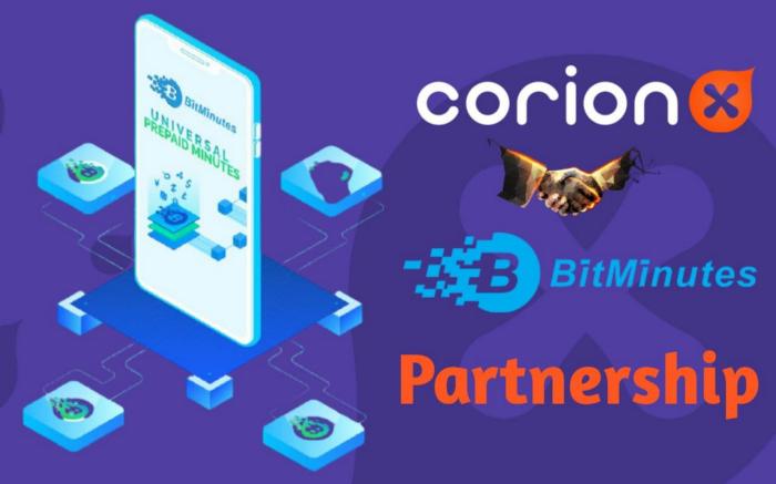 CorionX BitMinutes Partnership